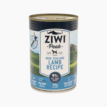 滋益巅峰Ziwi peak 无谷羊肉主食犬罐头 390g 91%肉含量 新西兰进口 小图 (0)