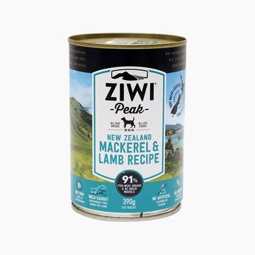 滋益巅峰Ziwi peak 无谷马鲛鱼羊肉主食狗罐头 390g 91%肉含量 新西兰进口 小图 (0)