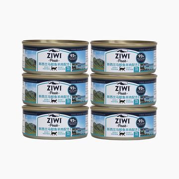 滋益巅峰Ziwi peak 马鲛鱼羊肉猫罐头85g*6罐 小图 (0)