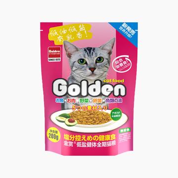 金赏Golden 低盐健体全猫粮 200g 小图 (0)