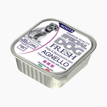 意大利孟爵Monge 爱优特犬 羊肉肉泥和肉块成犬狗罐头 150g 80%含肉量 小图 (0)
