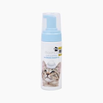 月亮喵喵 猫用温柔洁净干洗澡慕斯150ml 免洗香波 小图 (0)