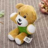 宜特 卡通毛绒洁齿狗狗玩具