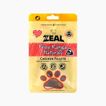 真致ZEAL 风干走地鸡胸肉块 125g 狗零食 新西兰进口 小图 (0)