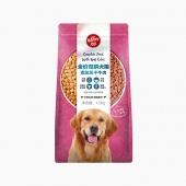 顽皮 happy100全价全期牛肉双拼犬粮 1.5kg 通用型狗粮