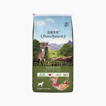 伯纳天纯 无谷冻干丛林探秘全犬种全期犬粮 12kg 72%含肉量 小图 (0)