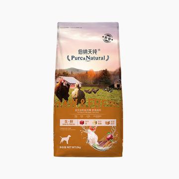 伯纳天纯 无谷冻干农场派对全犬种全期犬粮 2kg 65%含肉量  小图 (0)