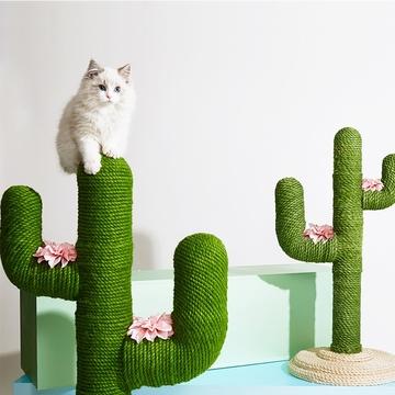 未卡 北欧风仙人掌创意猫爬架mini 手工制作 结实耐抓 小图 (0)