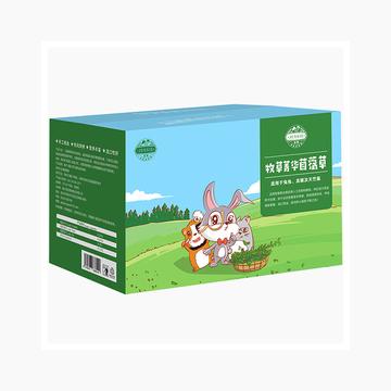 洁西JESSIE 牧草菁华苜蓿草兔粮兔草 1kg 杆细易磨牙 小图 (0)