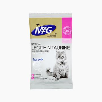MAG 猫用卵磷脂牛磺酸颗粒 20g 明目亮毛 小图 (0)