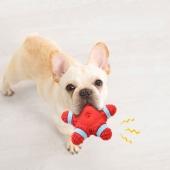宜特 乳胶发声宠物玩具狗玩具 法斗柯基柴犬比熊幼犬磨牙耐咬陪伴玩具