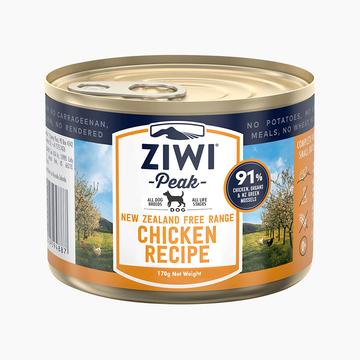 滋益巅峰Ziwi peak 鸡肉主食狗罐头170g 91%肉含量 新西兰进口 小图 (0)