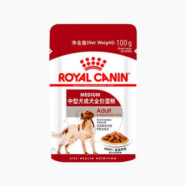皇家 中型犬成犬湿粮 100g