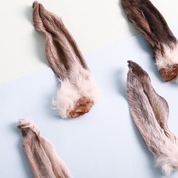 优倍滋 有毛兔耳朵 40g 狗零食 小图 (0)