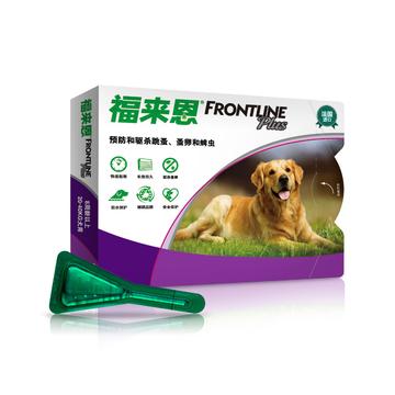 福来恩 20-40kg大型犬增效滴剂2.68ML 单支无说明书 狗体外驱虫 法国进口 小图 (0)