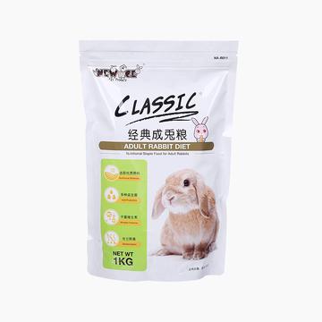 NEW AGE纽安吉 经典成兔粮1kg 小图 (0)