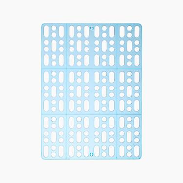 New Age纽安吉小动物健康踏板透明蓝/透明粉
