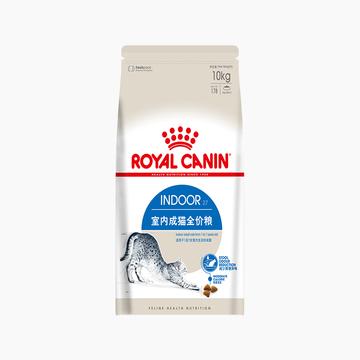 法国皇家ROYAL CANIN 室内成猫粮 Indoor27/10KG 小图 (0)