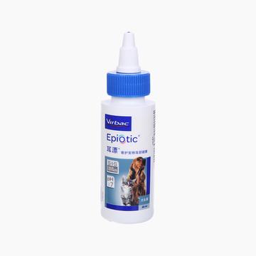 法国维克Virbac 猫狗耳漂耳部护理洗耳液 60ml 清洁耳道去耳螨 小图 (0)