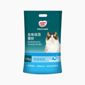 怡亲Yoken 膨润土猫砂 10kg 去味结团 低粉尘不沾底 小图 (0)