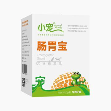 大红鹰国际娱乐EHD 犬猫肠胃宝益生菌 10包 调理肠胃促消化 小图 (0)