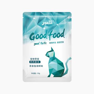 怡亲Yoken 金枪鱼吞拿鱼海鲜鲜封包猫湿粮 110g 小图 (0)