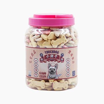 它它TouchDog 杂锦罐装磨牙防口臭饼干狗零食 1kg 小图 (0)