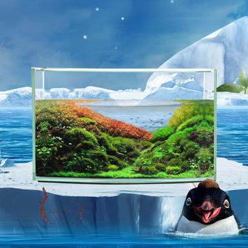 水作  水族箱鱼缸含潜水泵 多款可选 小图 (0)
