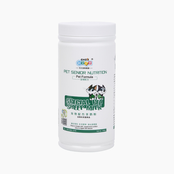 新宠之康 出口型猫狗专用羊奶粉 400g 补钙营养保健 小图 (0)