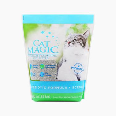 喵潔客Catmagic 膨潤土清潔貓砂 14磅 洋甘菊香 低粉塵強吸水 美國原裝進口