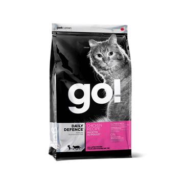 Go! 活力鸡肉无谷天然全猫粮 8磅 加拿大进口天然粮 小图 (0)
