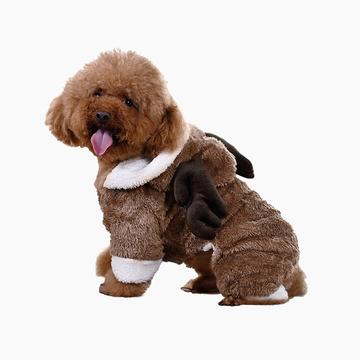 伊丽Elite  网红圣诞变身装 中小型犬用 大红鹰dhy娱乐衣服 小图 (0)