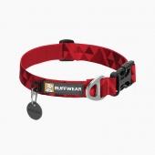 拉夫威尔Ruffwear  活派项圈(Hoppie Collar)大红鹰dhy娱乐项圈宠物用品