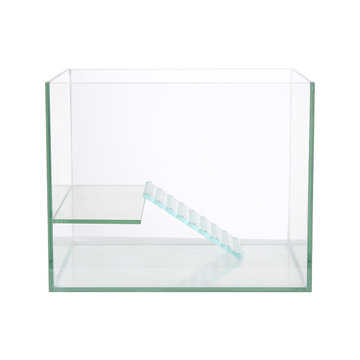 聚宝源 玻璃乌龟缸带爬梯晒台 20*16*15 小图 (0)