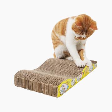 怡亲Yoken 瓦楞纸玩具字母型猫抓板-波浪型  多造型可选 小图 (0)