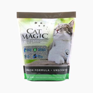喵潔客 膨潤土清潔貓砂14磅 活性炭 快速吸水 結團牢固