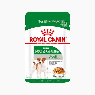 非卖品【试用装】皇家 小型犬成犬湿粮试用装 85g