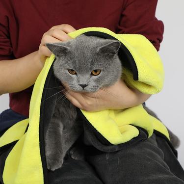 多可特 寵物洗澡毛巾 犬貓通用 快速吸水 不易掉毛