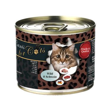 Ocanis 天然无谷全猫主食罐头鹿肉&猪肉配方 200g 含肉量≈99%!