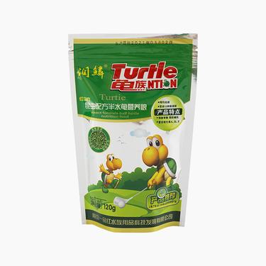 潤麟 昆蟲配方半水龜營養糧 120G 營養美味 密封設計